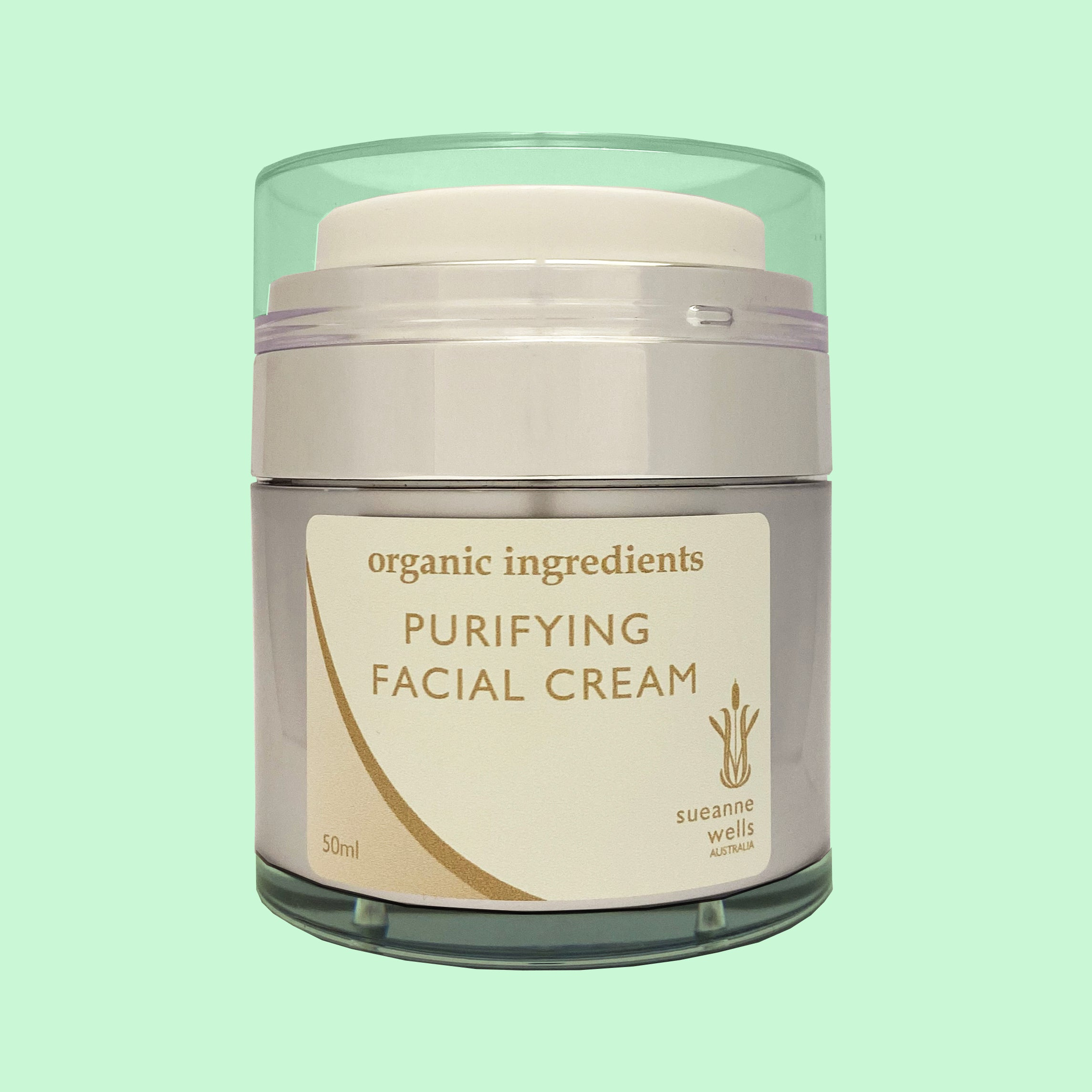 A light cream with amazing purifying and antioxidant properties. Dramatically transforms the look and feel of your skin. Contains Aloe Vera, Marine Collagen, Rice Bran Oil, Rose Hip Oil, Hyaluronic, Vitamin E, Green Tea Extract & Coenzyme Q10, Vegetable Glycerin, Plantaserv S, Rose Geranium Essential Oil. Skin Care, Chemical And Preservative Free, Plant Based, Australian Made.