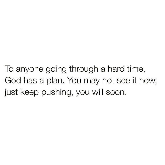Keep pushing 🙏