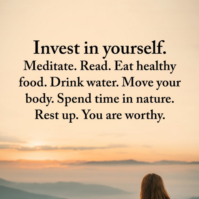 Invest in You ❤️