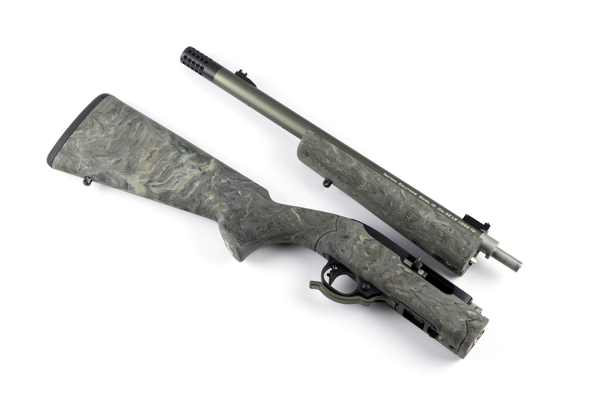 Tactical Solutions 10/22 Takedown® Barrel and Overmolded Stock Upgrade