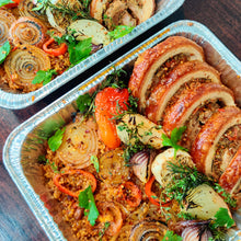 Load image into Gallery viewer, Spanish Porchetta W/ Paella