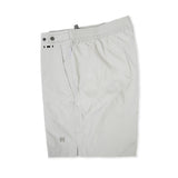 Light grey tailored mid-length swim short