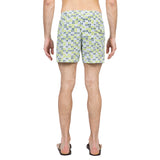 Lemon elasticated mid-length swim short