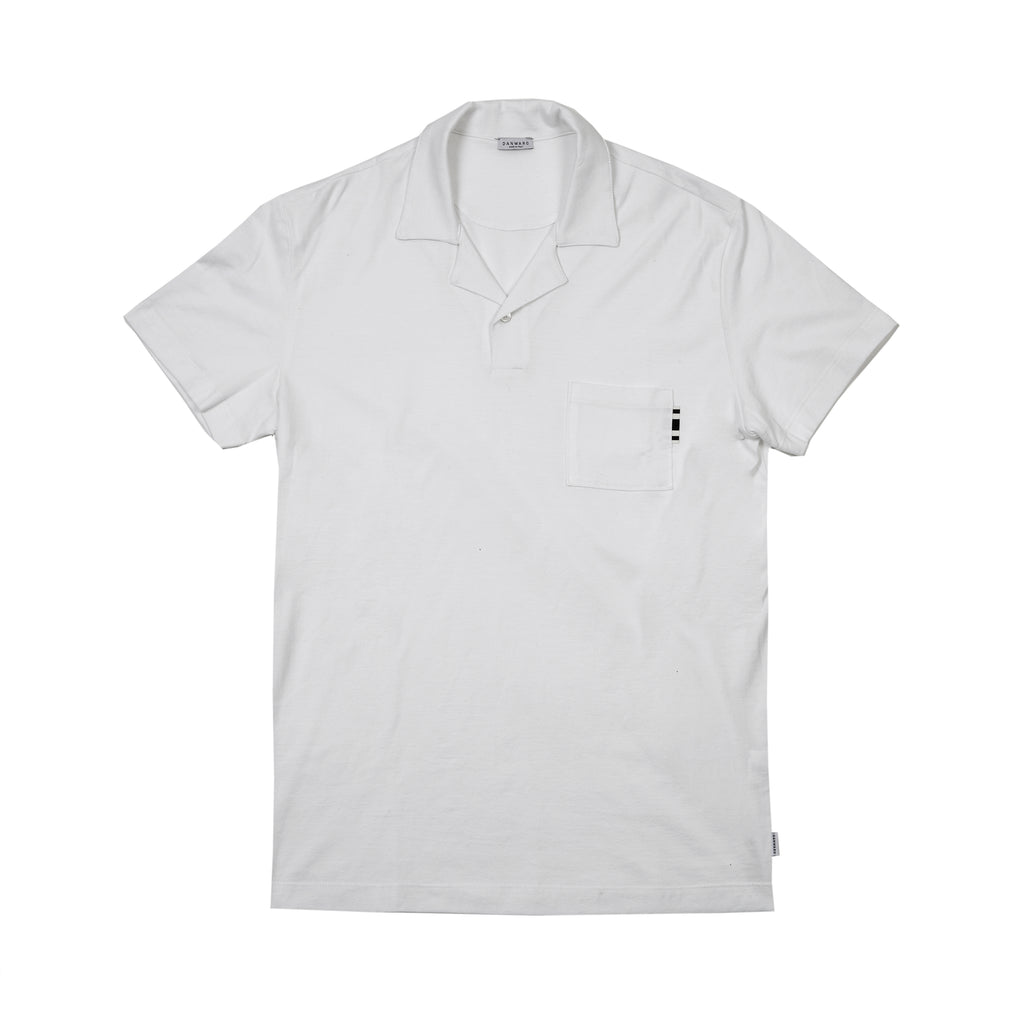 Cotton jersey polo
