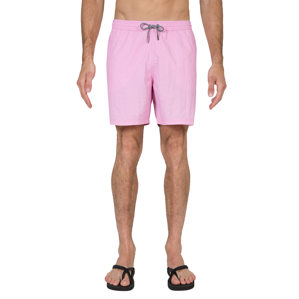 Rose elasticated mid-length swim short