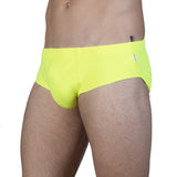 Lemon lycra brief