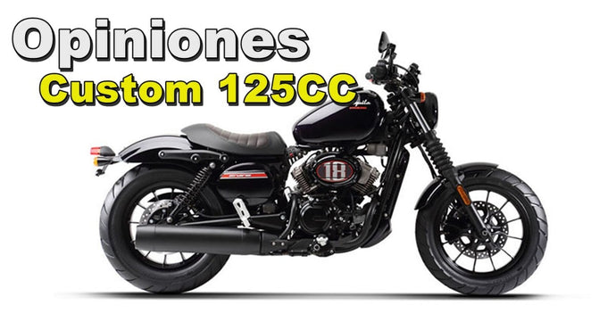 Opiniones Motos Custom 125cc