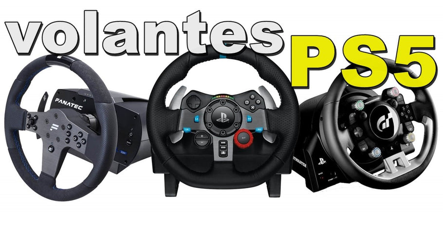 ¿Qué volantes son compatibles con PS5? Lista Simracing