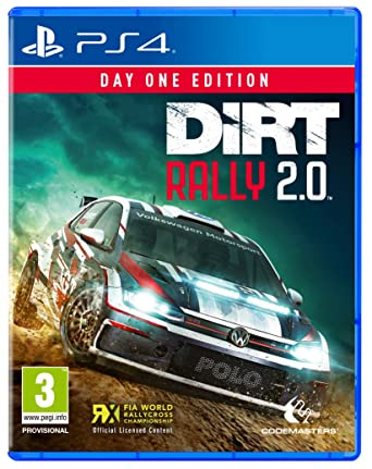 Dirt Rally 2.0 Codemasters simracing