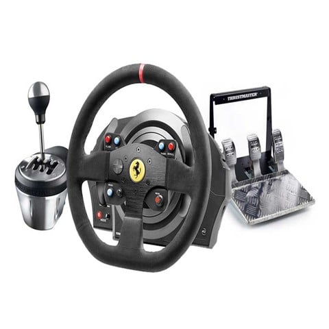 Palanca marchas thrustmaster pedales volante