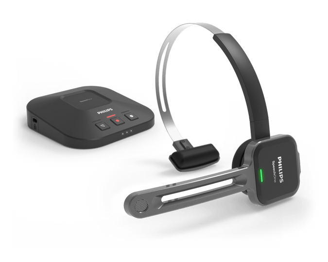 Philips SpeechOne PSM6300 Wireless Speech Recognition Headset