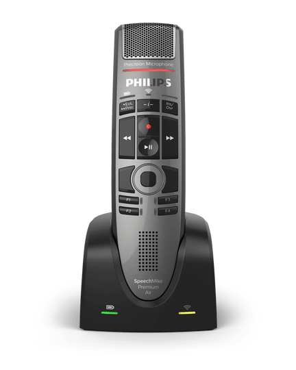 Philips Speechmike SMP4000 Wireless Speech recognition microphone for Dragon, Fusion Narrate, SayIt, and DMO