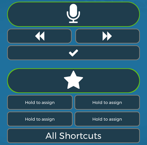 fusion narrate has a wireless smartphone microphone app included