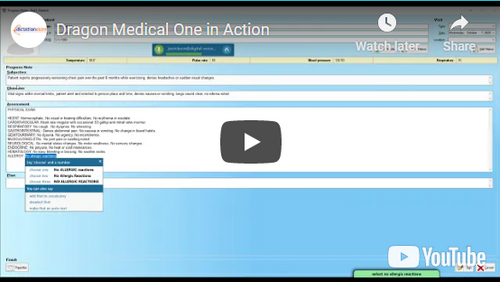 dragon medical one speech recognition software