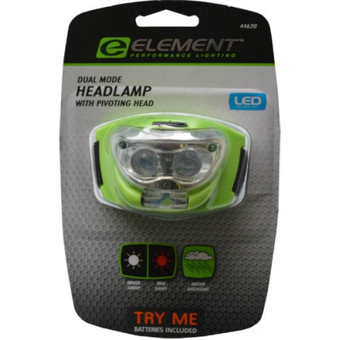 Headlamp LED Pivot Head