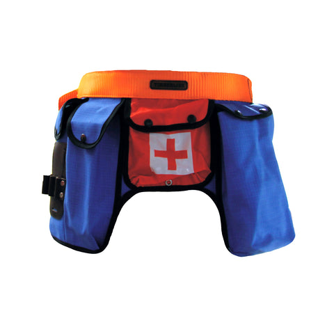 RIPSTOP MULTIPOUCH TOOLBELT - Blue/Orange