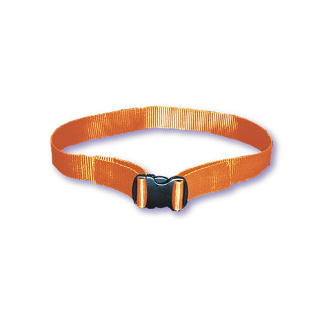 WEB BELT WITH PLASTIC BUCKLE -Orange