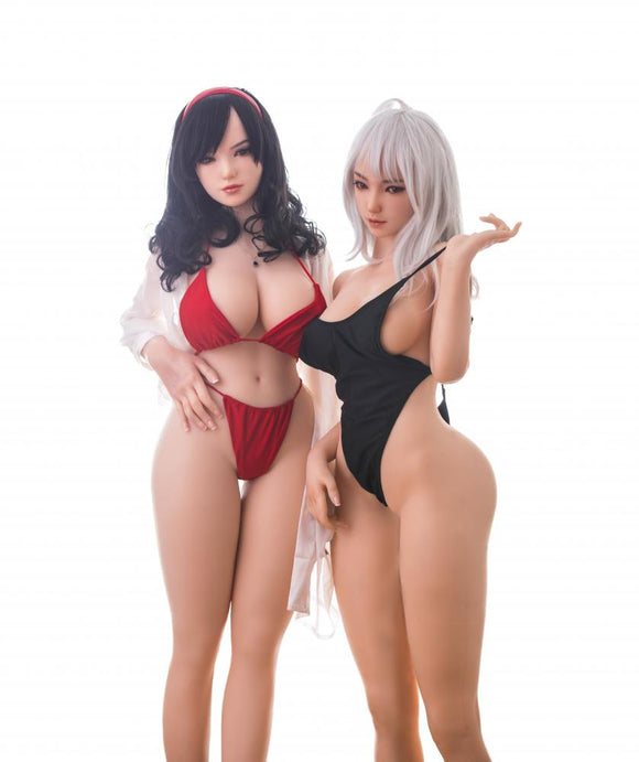 155cm(5ft1') Twins Bbw Anime Sex Doll - S30 Linyin