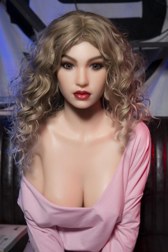 152cm(4ft11') Blonde Perfect Silicone Sex Doll With Metal Skeleton - S10 Amanda