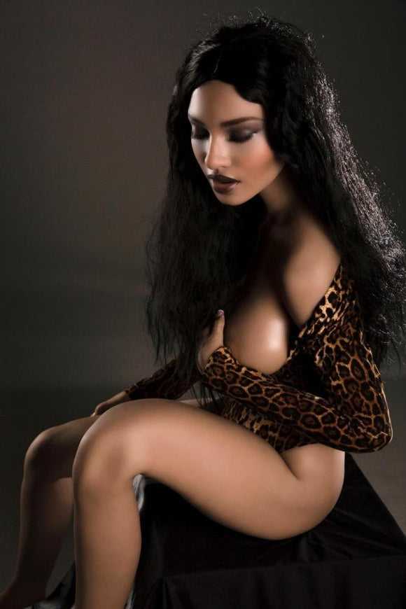 161CM(5ft33') Africa Sex Doll S6 Rosemary - Close Eyes