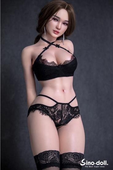 162cm(5.4ft) Hyper-Realism Painting Silicone Sex Doll - S33 Lin Yanyan