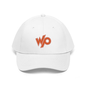 Warrior Princess Baseball Cap Hat - Peach/Red Logo