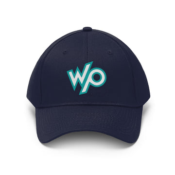 Warrior Princess Baseball Cap Hat - Turqouise Logo