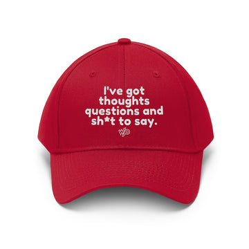 I've Got Sh*t To Say Baseball Cap, Hat