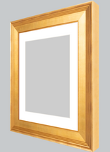 Load image into Gallery viewer, Certificate Wide Gold-Frame