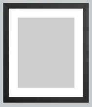 Load image into Gallery viewer, gallery-black-custom-frame