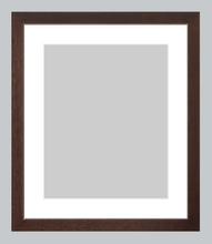 Load image into Gallery viewer, gallery-dark-walnut-custom-frame