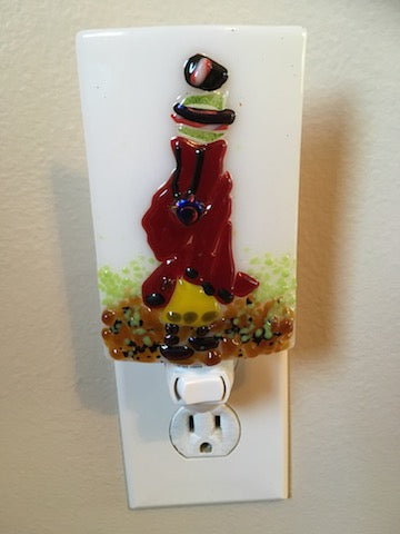 Masai Woman Night Light
