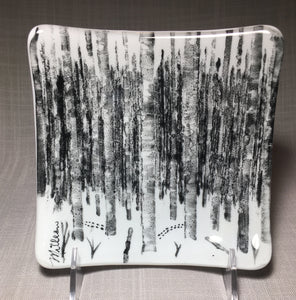 Birch Forest Plate, Small