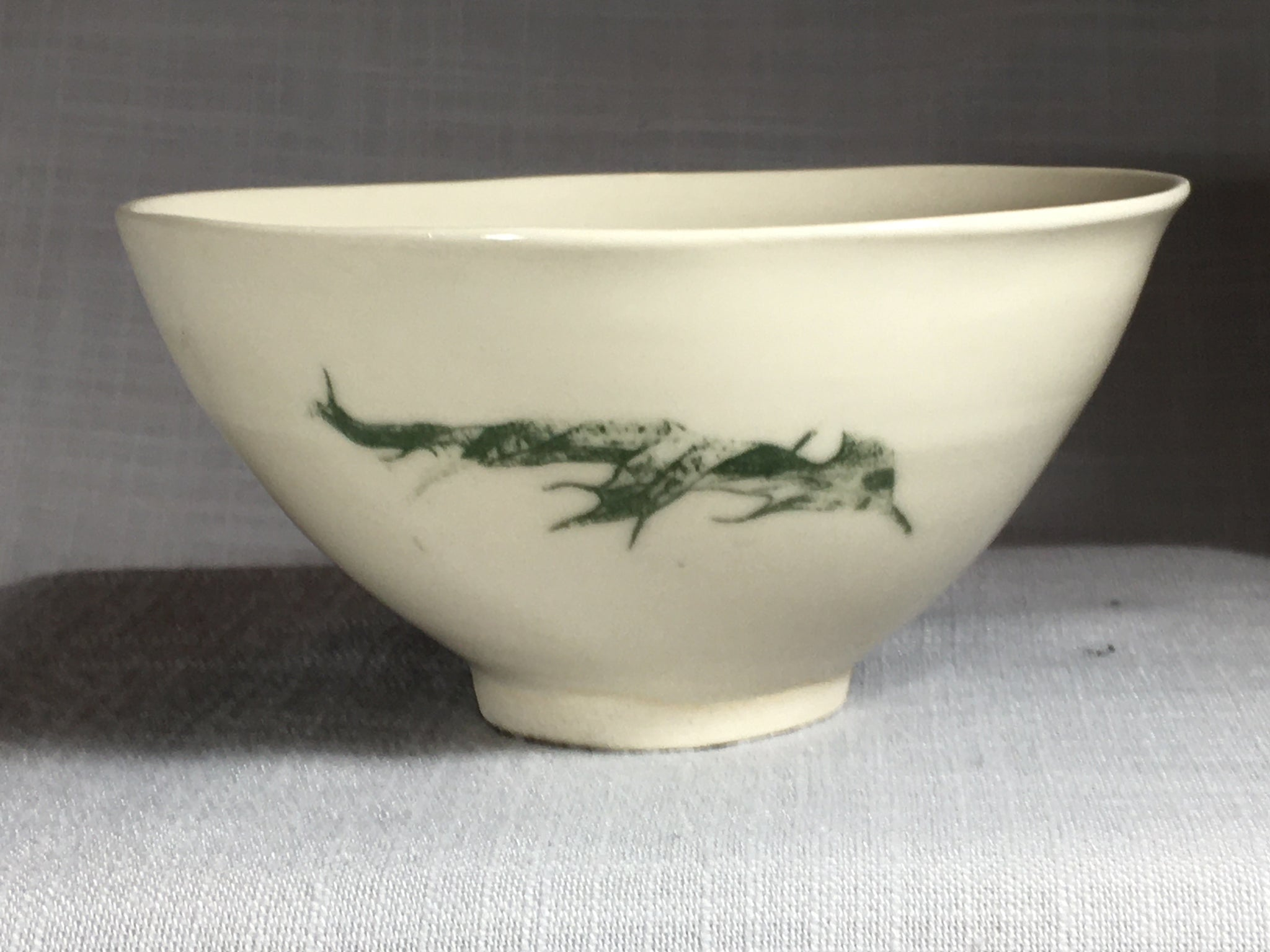 Bowl with Oak Leaf