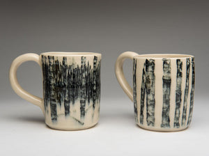 Birch Bark Mugs