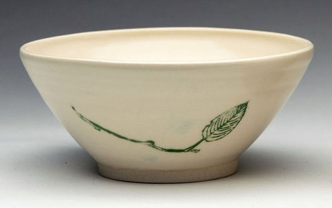 Bowl with Leaf and Twig