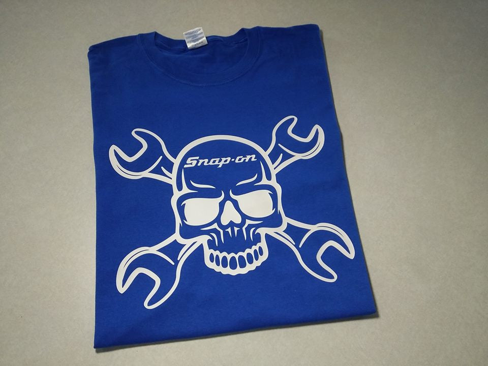Snap-On Skull with Wrenches T-shirt