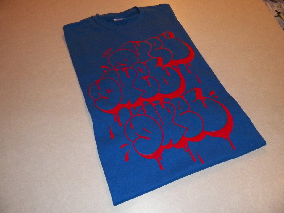 Red Duel Graffiti T-shirt