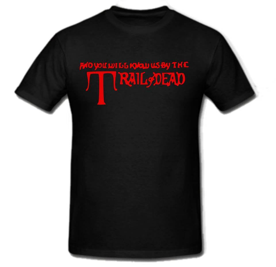 And You Will Know Us by the Trail of Dead Punk Rock T-shirt