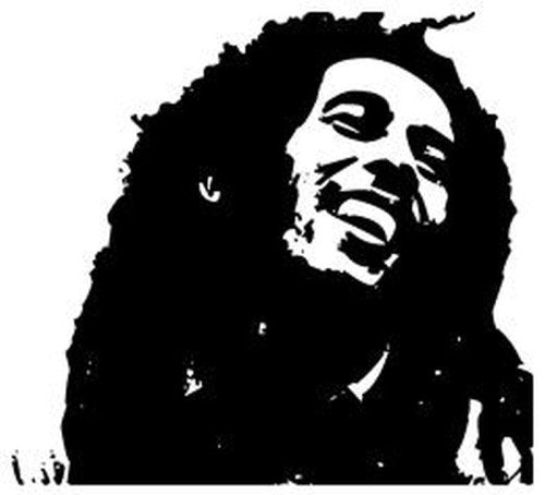 "Bob Marley - 23"" Die Cut Vinyl Wall Decal Sticker"