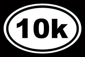 10k - Die Cut Vinyl Sticker Decal