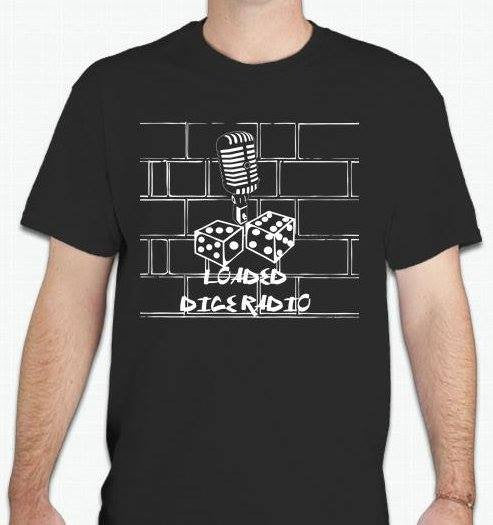 Loaded Dice Radio Show T-shirt | Blasted Rat