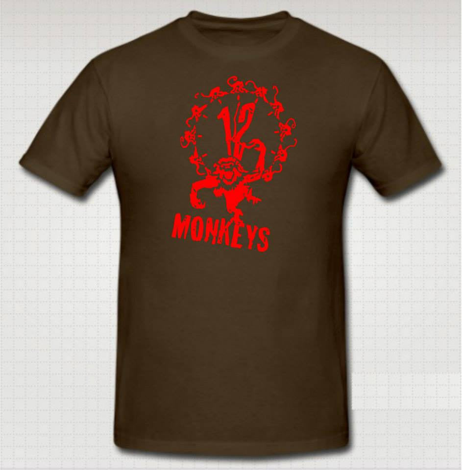 12 Monkeys T-shirt | Blasted Rat