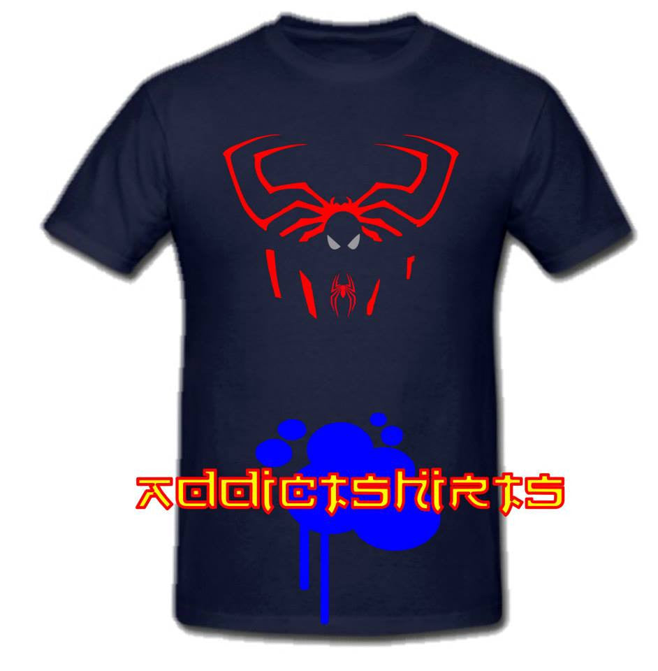 Spiderman Outline T-shirt | Blasted Rat