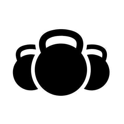 3 Kettlebells Crossfit MMA |  Die Cut Vinyl Sticker Decal