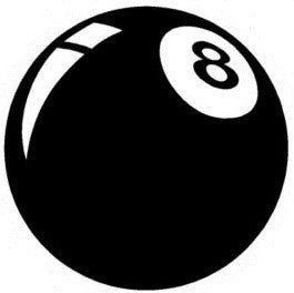 8ball - Die Cut Vinyl Sticker Decal
