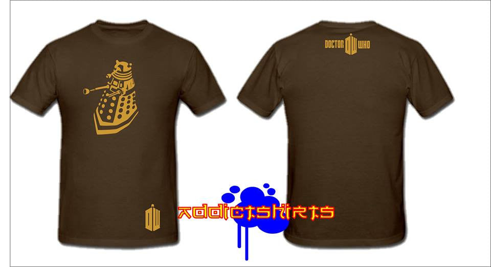 Doctor Who Dalek Whovian T-shirt