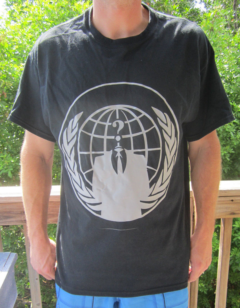 Anonymous Grey Crest Legion T-shirt