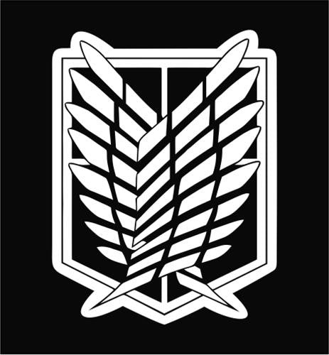 Attack on Titan Recon Corps Seal - Die Cut Vinyl Sticker Decal