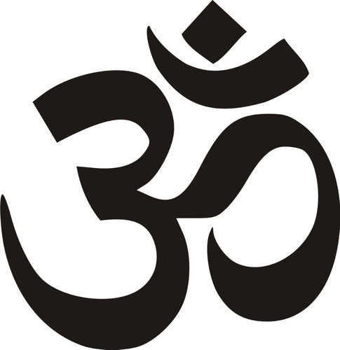 Om, Aum - Die Cut Vinyl Sticker Decal